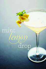 How to Make lemon drop martini recipe with simple syrup including seasonal