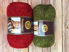 Lion Brand Holiday Yarn Bundle