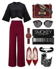 """""""Geen titel #225"""" by soukiiz ❤ liked on Polyvore featuring Roland Mouret, Prada, Christian Dior, Skagen, Kenneth Jay Lane and Stella & Dot"""