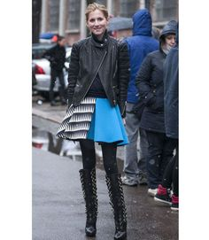 Street Style at Fall 2013 Milan Fashion Week - MFW Street Style Pictures - Marie Claire