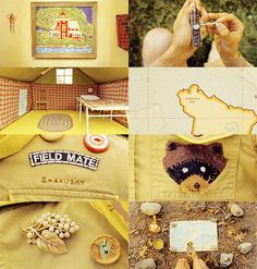 Moonrise Kingdom.  Inanimate Objects
