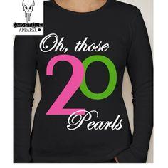 20 Pearls shirt