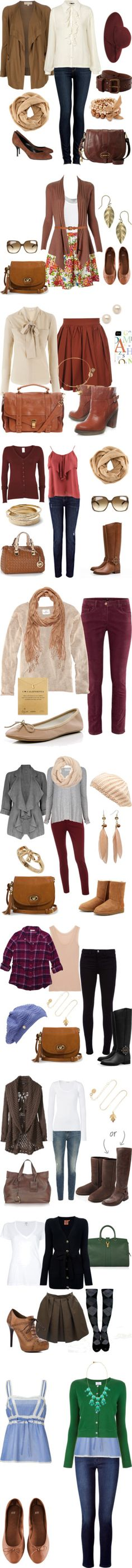 """""""Fall Outfits"""" by natihasi on Polyvore"""