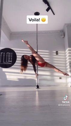Pole Fitness Clothes, Pole Fitness Moves, Pole Dance Moves, Pole Dancing Fitness, Pole Classes, Pole Dance Wear, Aerial Acrobatics, Pole Tricks, Pole Art