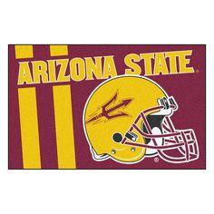 Arizona State Sun Devils Uniform Inspired Area Rug