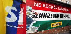 In Colombia come in Ungheria sull'esito del voto ha inciso l'alto tasso di astensionismo. Ma i leader hanno rilanciato la sfida.