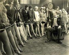 Chorus girls - casting c. 1927