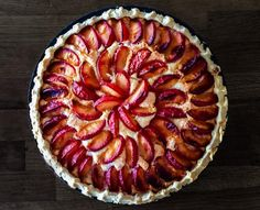 This Plum and Almond Tart is so versatile, it is great with a cuppa and makes a lovely pudding. If you like Bakewell Tart you will love this recipe.