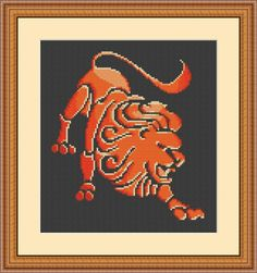 Excited to share the latest addition to my #etsy shop: Zodiac Lion - Lion - fiery lion - Leo cross stitch pattern - leo - zodiac - zodiac pattern - leo pattern - zodiac cross stitch #crossstitch #crossstitchpattern #lioncrossstitch #fierylion #zodiac #lion http://etsy.me/2jXmEws
