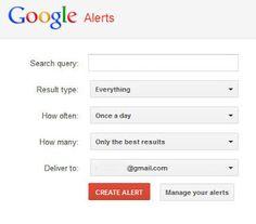 Cómo utilizar las alertas de Google en Inteligencia (OSINT) (mi blog).