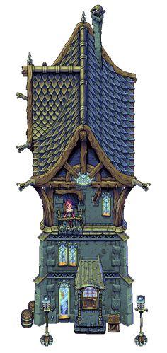 Steampunk House by Cyangmou