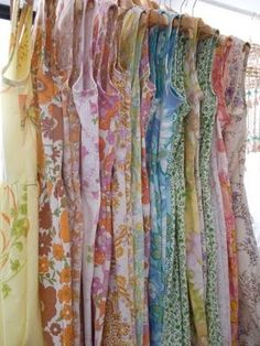 Beautiful dresses made from vintage sheets. | Chic Fashion Pins : The Cutest Pins Around!!!