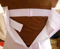 come cucire corpetto,corsetto steccato