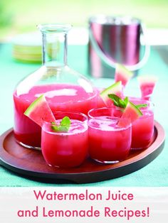 Watermelon Juice AND