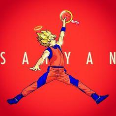 Super Saiyan Goku x Air Jordan