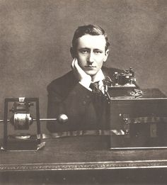 Guglielmo Marconi 1901 (first to send a morse code across the atlantic, the dawn of new era in wireless communication)