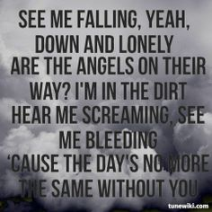 This is the first Volbeat song I ever heard, thanks to Kyle...and it's still one of my top 10.  <3  The story behind it is beautiful, and the lyrics are haunting.