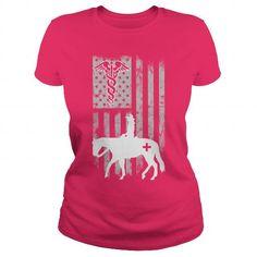 Cowgirl Nurse with Flag USA T Shirts, Hoodie Sweatshirts