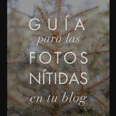 Consigue que las fotos de tu blog estén nítidas.  #blog #fotografía  #diseño http://meisi.es/no-mas-fotos-borrosas-en-mi-blog/