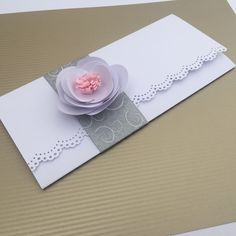 Sobre De Dinero para Boda #handmadecards #crafts #scrap #wedding #boda