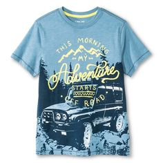 Boys' Adventure Graphic Tee