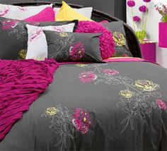 bedding!  Wow....love what's going on here..