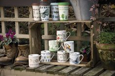 Kew Gardens Mugs and Travel Mugs Collection  Available end of February 2014