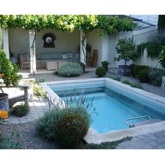 pool for a small garden