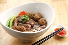 Beef Kway Teow (Soup) - $12.90