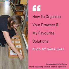 Nearly every room that contains drawers has one drawer filled with fiddly little bits that are hard to keep tidy and organised - stationery in the office, underwear in the bedroom, the junk drawer.  Unless of course you have found the right solution!  There are a lot of different options available to you and I thought I would share some of my favourites and how to make sure you get the right storage for you.  Don't delay, start today Sara…