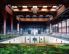 abandoned swimming pool.  This is really cool.. Need to find.