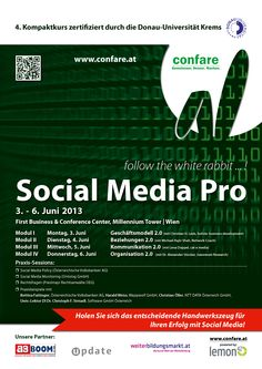 #SocialMedia Pro - Kompaktlehrgang mit Teilnahmezertifikat von der Donau Uni Krems