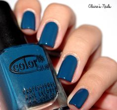 "Color Club ""Harlem Lights"" Winter Collection - Baldwin Blues NEW"