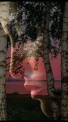 New surreal art photography photo manipulation faces Ideas Love Images, Art Images, Romantic Pictures, Beautiful Pictures, Double Exposure Photography, Beautiful Gif, Jolie Photo, Color Photography, Urban Photography