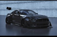 2015 model mustang with body kit