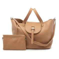 0fc786d039 meli melo Women s Thela Medium Daisy Laser Cut Tote Bag Light Tan ...