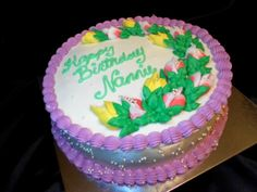 "10"" Spring Birthday Cake"
