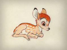 we'll be a Dream - animationartworks: Bambi Concept Art