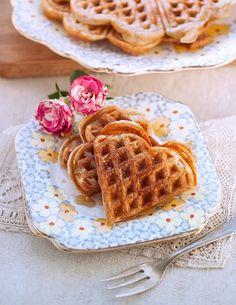 Easy sourdough waffles - Valentine's day brunch?