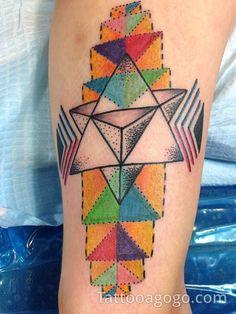 40 Sacred Geometry Tattoo Ideas 20
