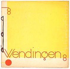 WENDINGEN - Number 8 of the 11th series 1930 dedicated to Het gebouw van De Bijenkorf te Rotterdam van architect W.M Dudok authors H.C.Verkruysen G.Friedhoff Dutch text