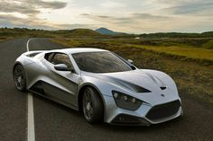 A rare find... The Zenvo ST1 Supercar is a 1,250-horsepower supercar that goes 0-60mph in 2.9 seconds. Btw, it's made in Denmark.