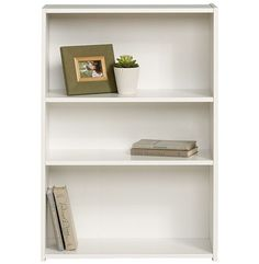 Benson Bookcase at Joss and Main Diy Apartment Decor, Small Apartment Decorating, Apartment Interior Design, Studio Decorating, Apartment Ideas, First Apartment Checklist, First Apartment Essentials, White Bookshelves, Bookcases