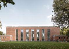 1930's Swimming Hall Finckensteinallee by Veauthier Meyer Architects
