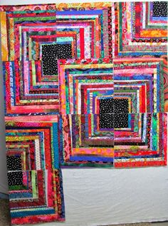 This is a reminder to myself. I love this quilter's work. It find it so inspiring.