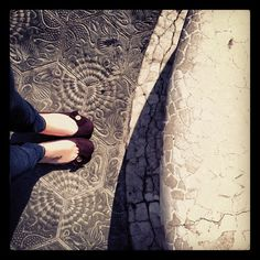 Passeig de Gracia: my everyday companion, Gaudì's floor. You feel like walking through corals but not getting pinch in the process.