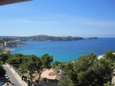 View from where we stay in Santa Ponsa