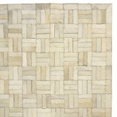Natural Hide Rug | Serena & Lily am Emily Henderson favorite