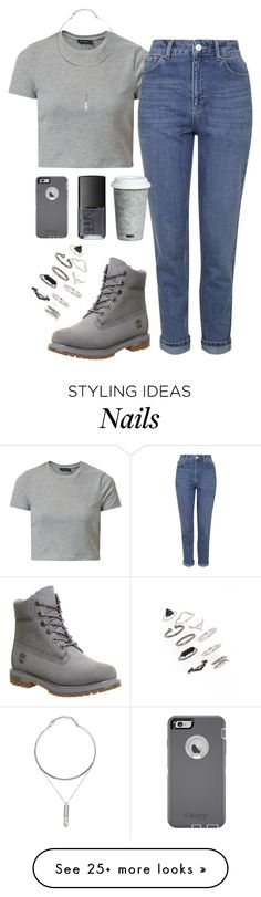 """Без названия #446"" by kristinabragina on Polyvore featuring Timberland, Topshop, Fitz and Floyd and NARS Cosmetics"
