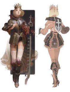Ideas For Hero Concept Art Character Design Armors Female Character Design, Character Design References, Character Design Inspiration, Character Concept, Character Art, Concept Art, Writing Inspiration, Dungeons E Dragons, Wow Art